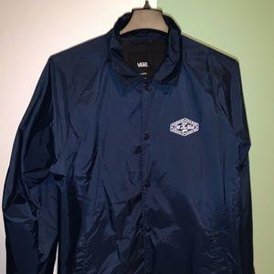 Vans Blue Torrey Coaches Jacket